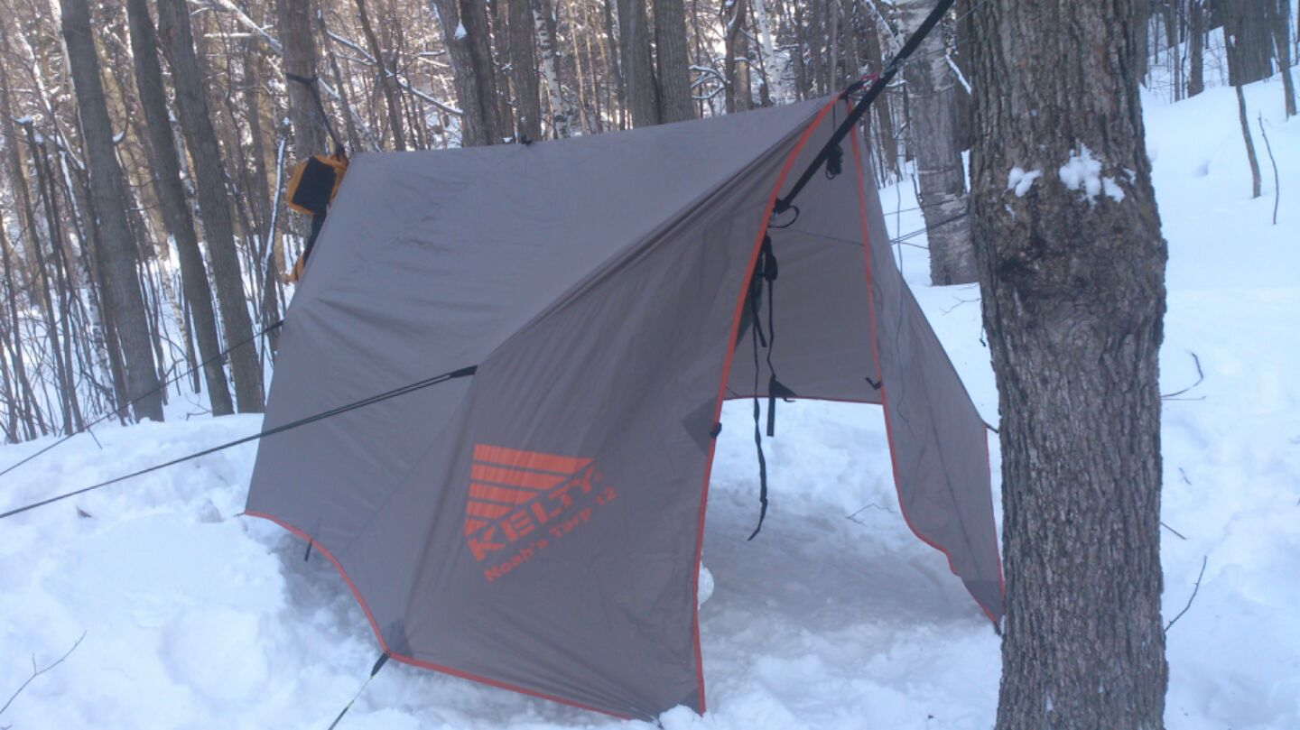Noah 12 Tarp In Winter