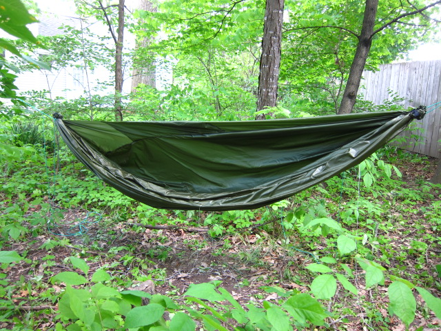 Initial Test Of My Diy Hammock