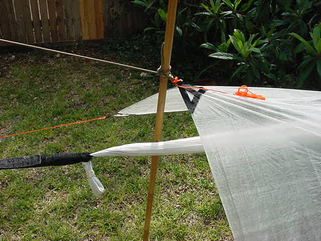 Medium image of cuben fiber poncho   tarp and cuben fiber hammock   detail