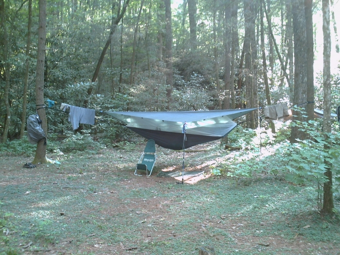 Hammockbliss With Ridge Line And 8x10 Tarp