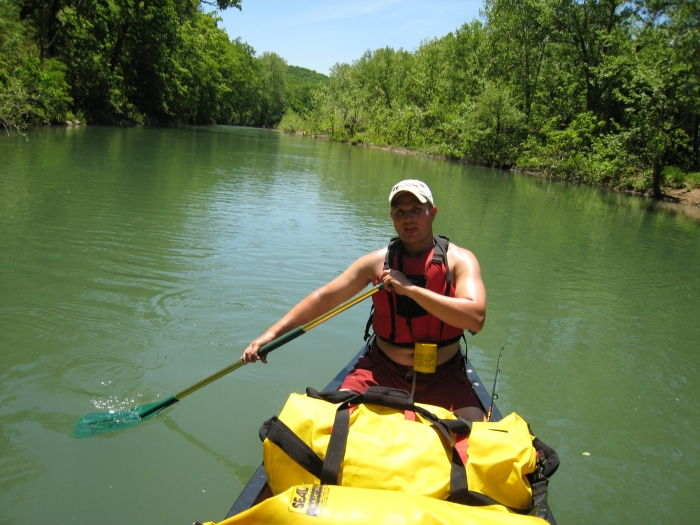 Me, On The Buffalo River, Day 3