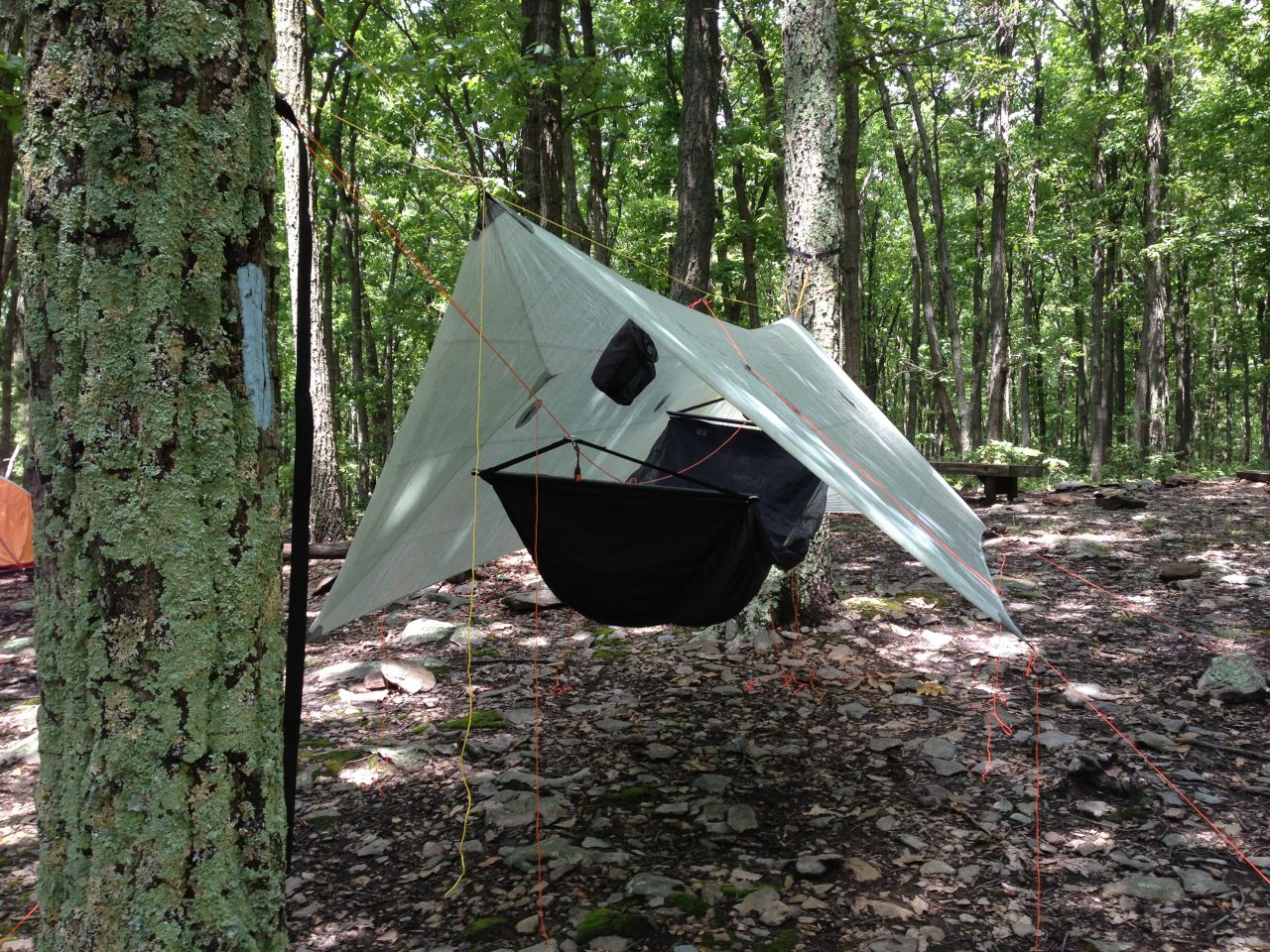New Cuben Fiber Tarp From Hammock Gear