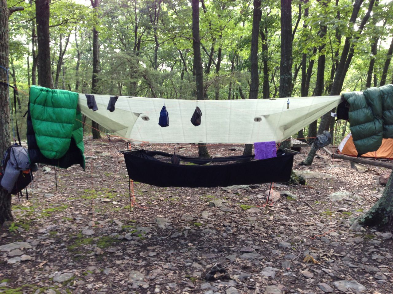 Cuben Fiber Tarp From Hammock Gear