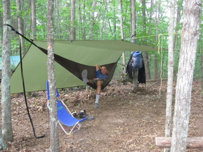 Inexpensive Hammock, Very Expensive But Great Tarp