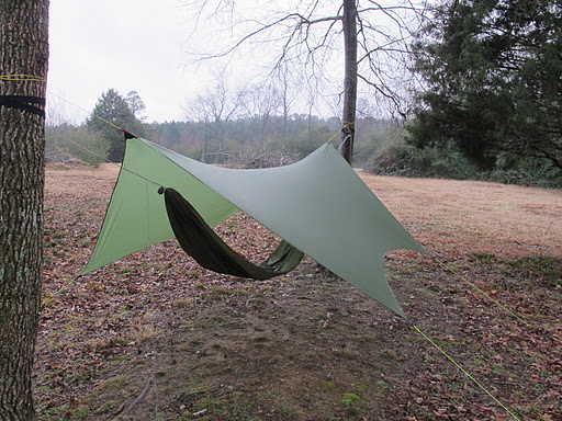 Just Another Olive Green Tarp.