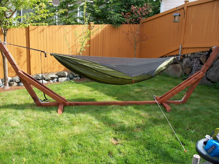 Hammock Stand Outdoors