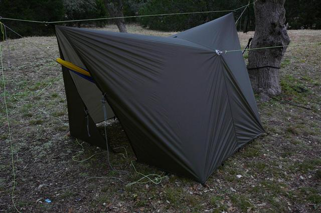 Jrb 11 X 10 Cat Tarp, Storm Pitch Low With Pullouts