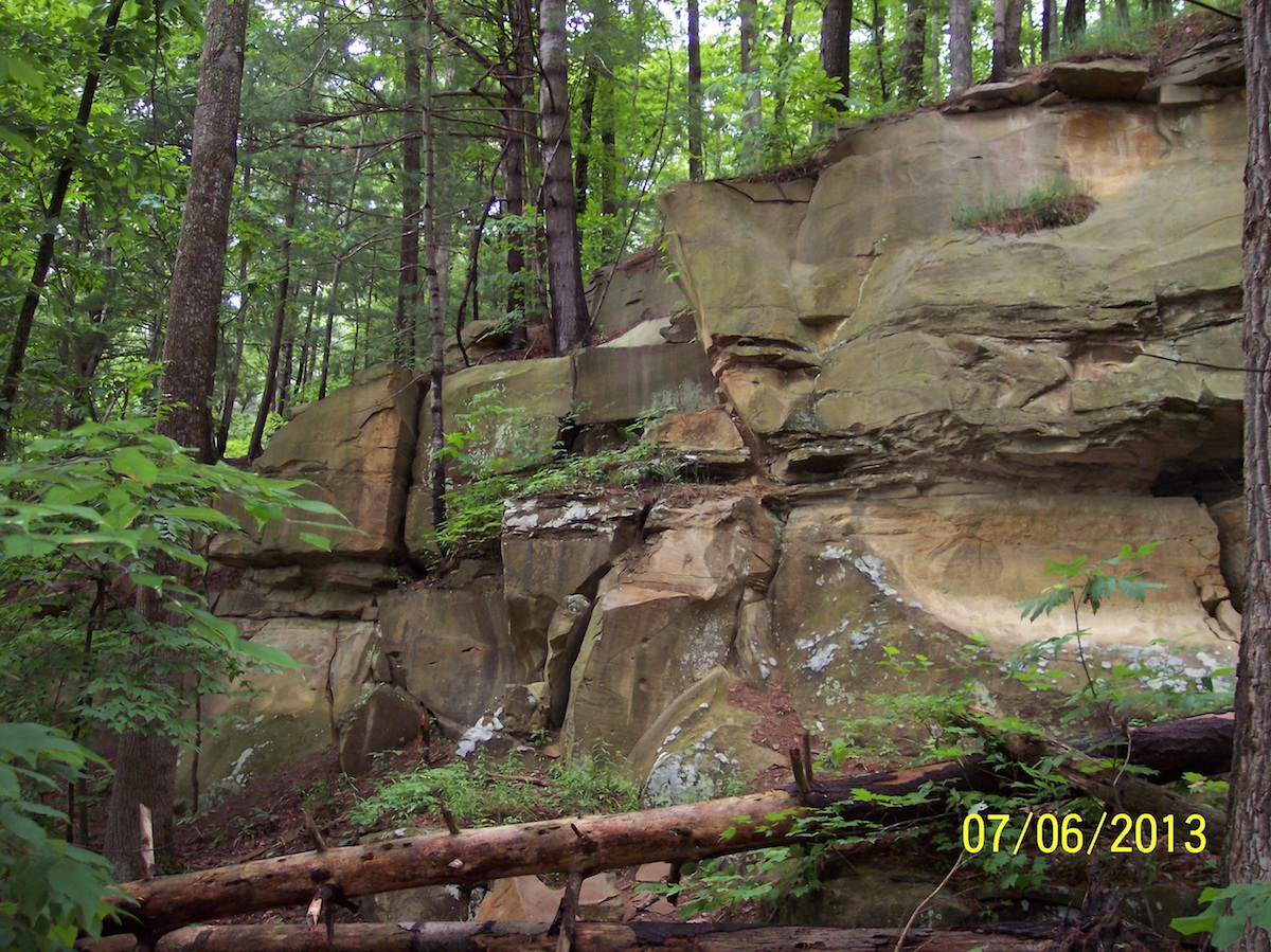 Mohican 1 - Rock Formation