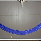 Purple Tablecloth Hammock