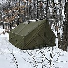 Hot tent by turkey in Homemade gear