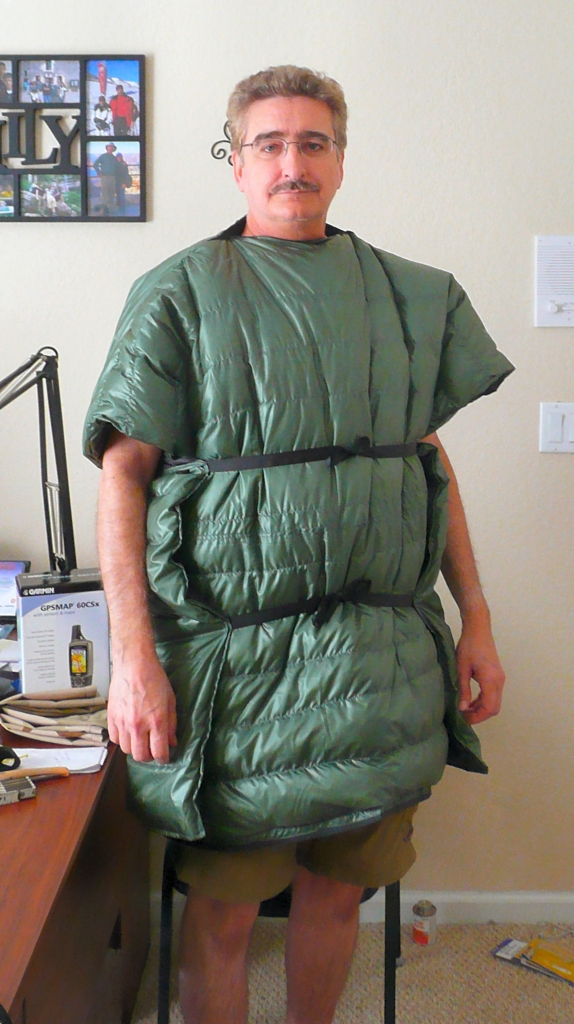 A Wearable Down Top Quilt