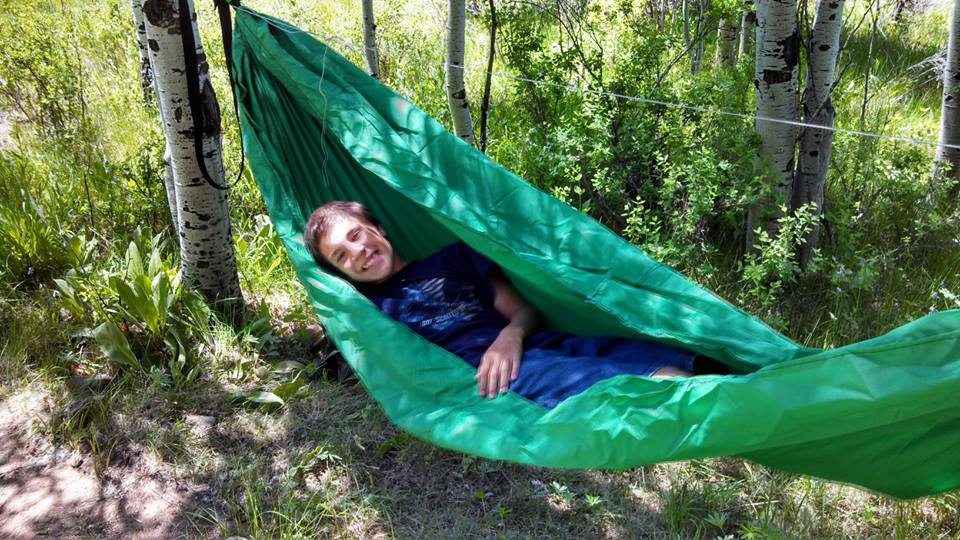 My First Diy Hammock