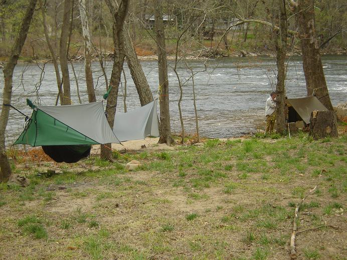 Hammocks On The French Broad