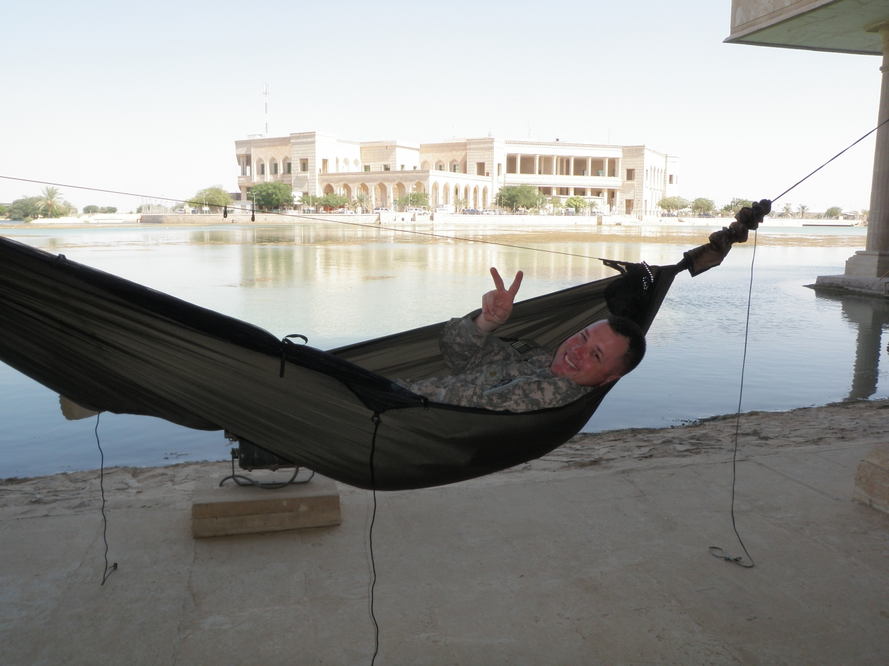 Peaceful Siesta In Iraq.