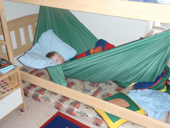 - Hammock Bunk Bed