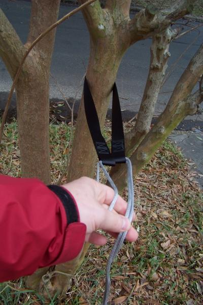 Using suspension, step 1