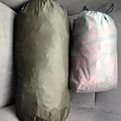 Stuff Sack Comparison by sandmaker in Tarps