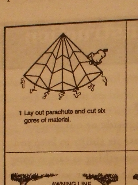 Survival Hammock Instructions Step 1