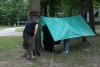 First Hang Tarp by Rythos in Hammocks