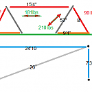 Yats  hammock stand schematic by Talox in Homemade gear