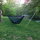 Yats  hammock stand and Fronkey  bugnet by Talox in Homemade gear