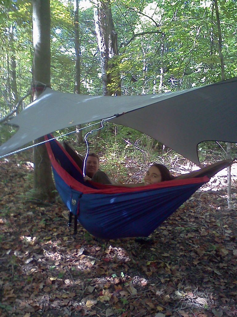 Eno Two Hammocks, One Tarp
