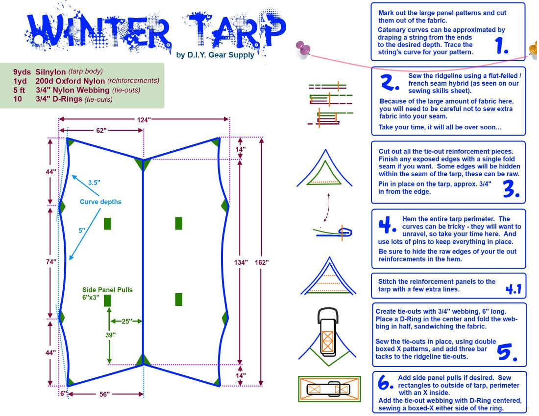 Diygs Winter Tarp