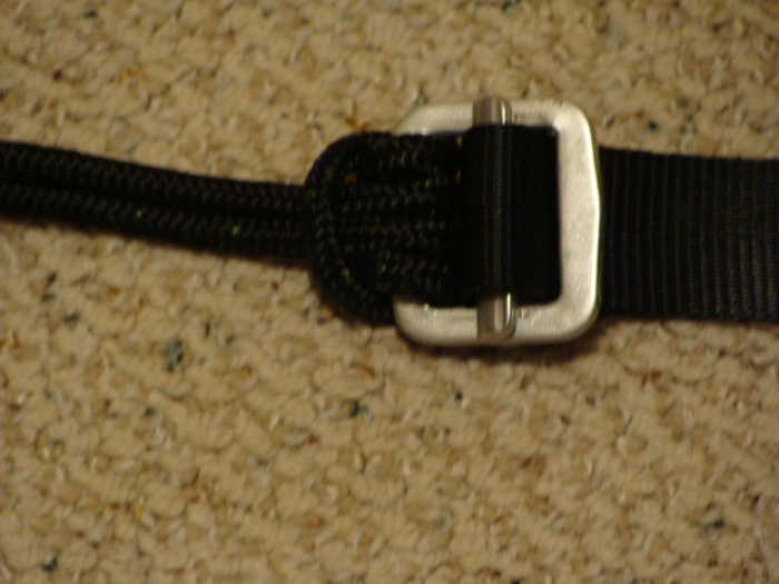 Close Up Of Stock Cord Attachment