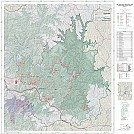 Red River Gorge Topo/Trail Map by SirMarkos in Hammocks