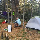 SHT Aspen Knob Campsite
