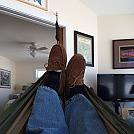 Hanging in the office. by rglazier in Hammock Landscapes