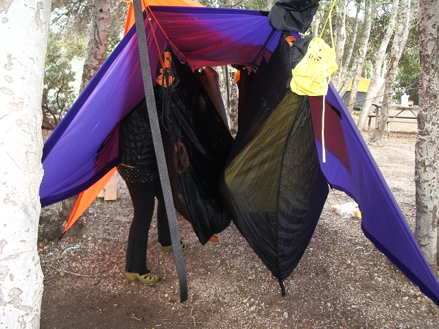 Hammock Camping At Silverwood Lake