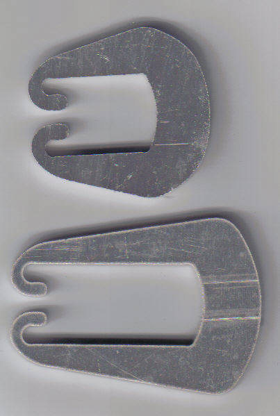 1.5 Inch Dutch Clip With 1 Inch Dc
