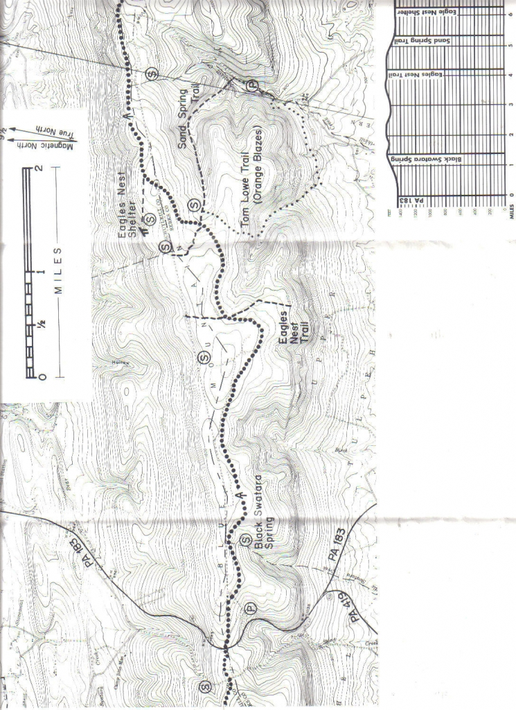Map Of Eagle Nest Shelter Area