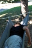 HLH in lower spreader bar hammock