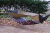underbody for pad in bridge hammock, unoccupied
