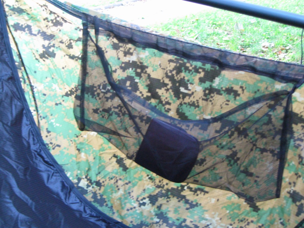 Grizzbridge With Sewn-in Zippered Bugnet