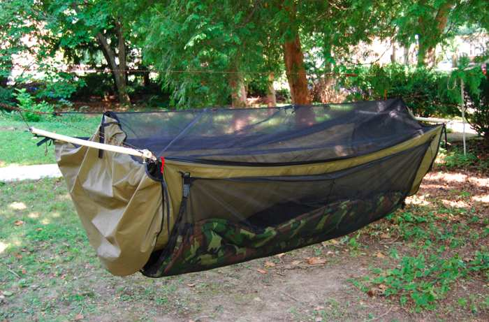 fyi i intend to make a bridge hammock like this as i found i have trouble sleeping on my back  diy hennessy style hammock build   survivalist forum  rh   survivalistboards