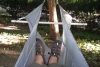 lower spreader version of bridge hammock by GrizzlyAdams in Homemade gear
