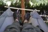 lower spreader version of bridge hammock by GrizzlyAdams in Homemade gear