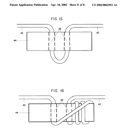 Sag adjustment device from Ridgeline patent