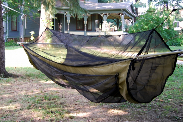 guide to making a bridge hammock  rh   hammockforums