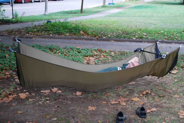 the hammock wouldn u0027t have to be as deep wide there as it is at least  pared to the head end  it looks like you could make it say 30  narrower there  bridge hammock   page 92  rh   hammockforums