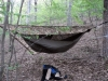 Hh Exped Asym With Super Shelter, 7x9 Camo Tarp by skierd in Hammocks