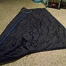 Converted military sleeping bag