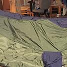 Living room hammock camping by TimberbeastWaco in Hammocks