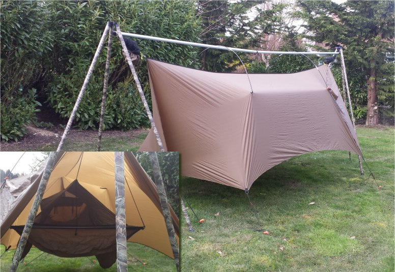 what i am selling is the actual aluminum parts from tato gear that make the kit  this includes the machined aluminum top as seen in this stock tato image     fs  tato hammock stand kit  two available   rh   hammockforums
