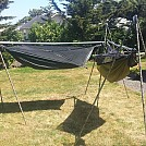 Accrete's convertable & portable hammock stand