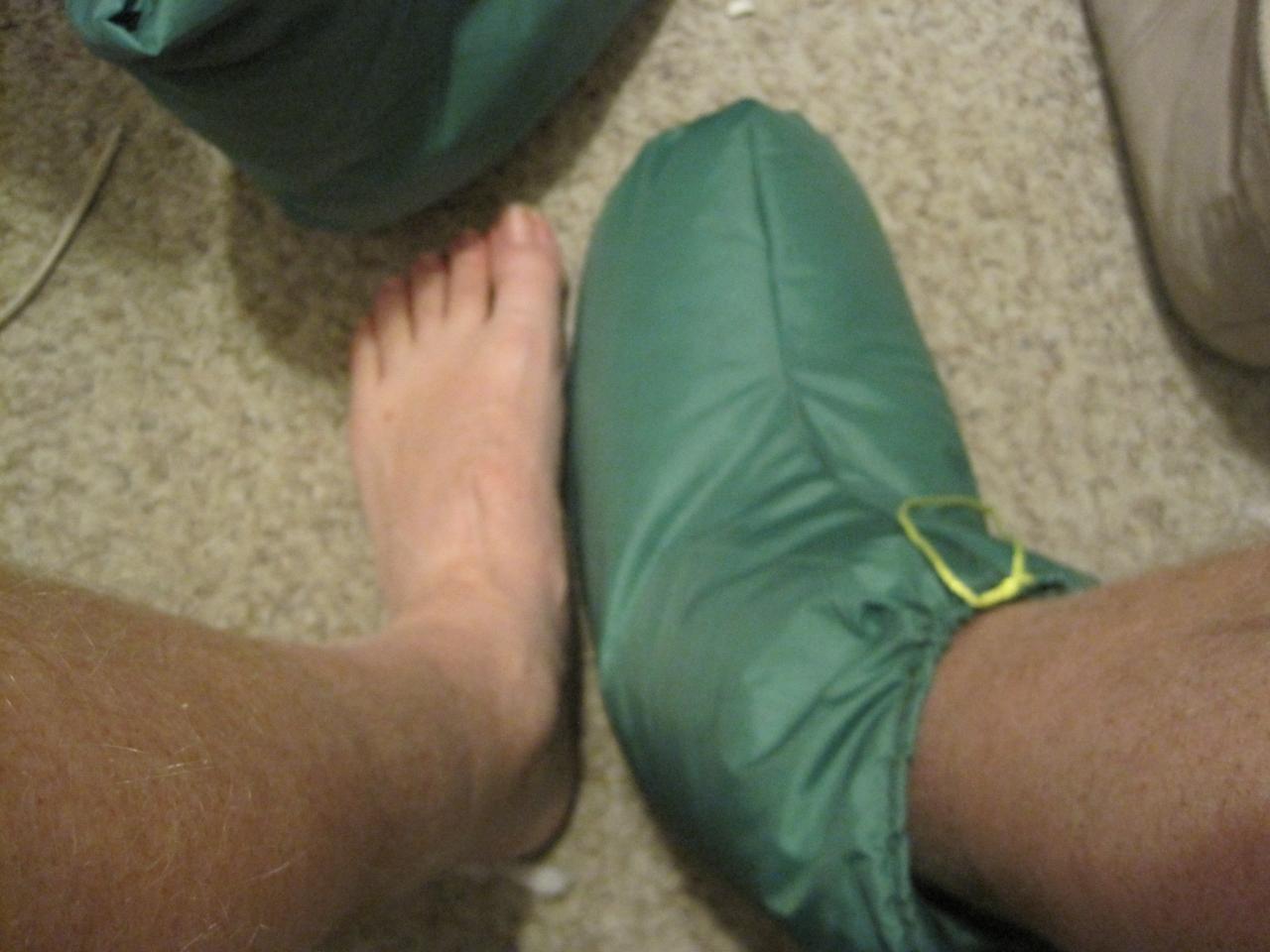 Diy Down Slippers