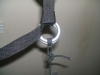 Picture of my 3 wrap ascender knot with bowline